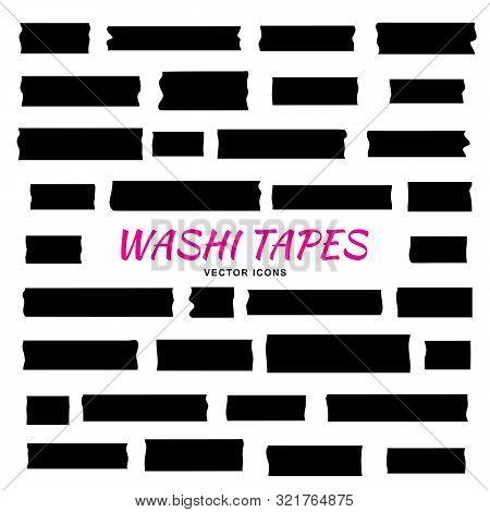Mini Washi Tape Strips, Washy Tape Ordecorative Adhesive Strips