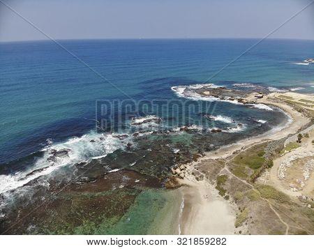 Israel Kibbutz Sdot Yam On The Mediterranean Sea