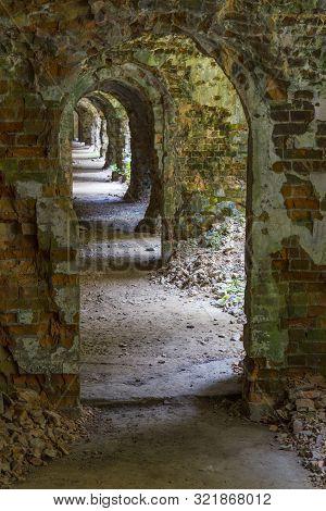 Tarakaniv ( Dubno) Ruined Fortress, Fortification. Tarakanivsky Fort. Ukraine. Abandoned Fortress In