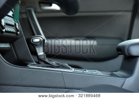 Automatic Selector Lever In The Passenger Car