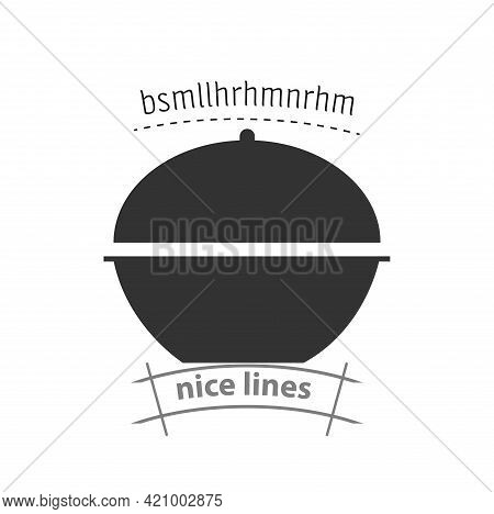 Pan Simple Vector Icon. Pan Isolated Icon