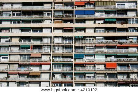 Colored Balcony