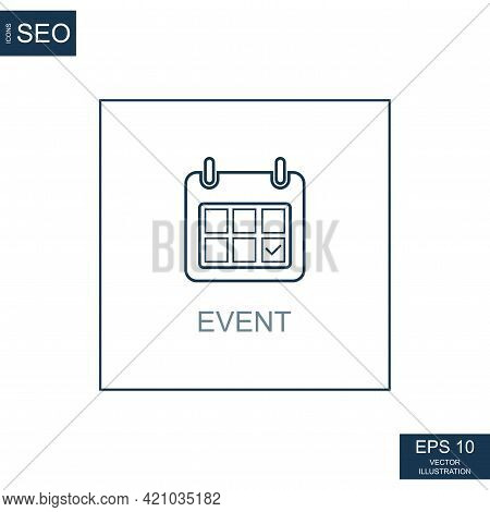 Abstract Business Icons, Ceo Team Event - Vector Illustration