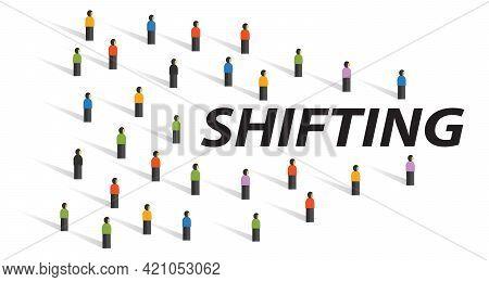 Shifting Behavior Consumer Shift Change Consumption Customer Market Direction Shifting