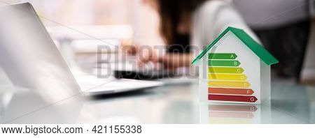 Energy Efficient House House Audit And Rate Label