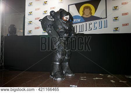 Kiev, Ukraine - June 1, 2019: Comic Con, An Annual Fandom Festival In Ukraine.