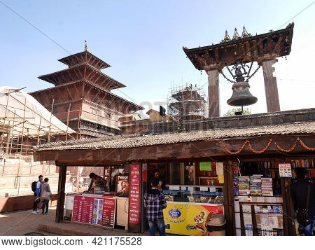Small Antique Local Grocery Nepali Shop For Nepalese People And Foreign Travelers Travel Visit Buy F