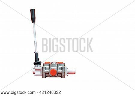 Mono Block Hydraulic Valve Levers Or Manual Directional Control Valve For Control Flow And Pressure