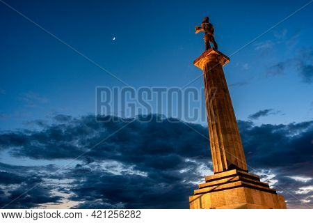 Victor Monument, Symbol Of Belgrade, Commemorating Allied Victory In The First World War At Belgrade