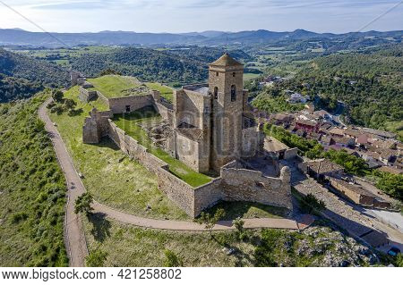 Castle Of Benabarre, Ribagorza Counts Castle, Huesca Aragon Spain