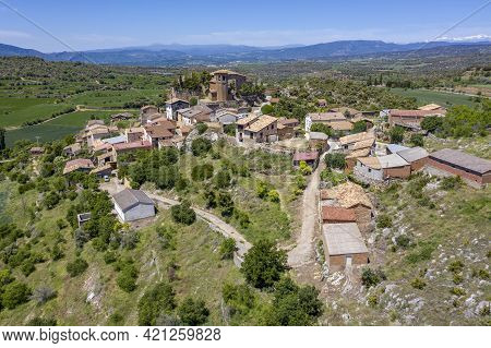 Aler Is A Spanish Town Belonging To The Municipality Of Benabarre, In Ribagorza, Province Of Huesca,