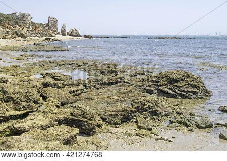 La Muralla Beach In The Puerto De Santa Maria, Cadiz, Andalusia, Spain