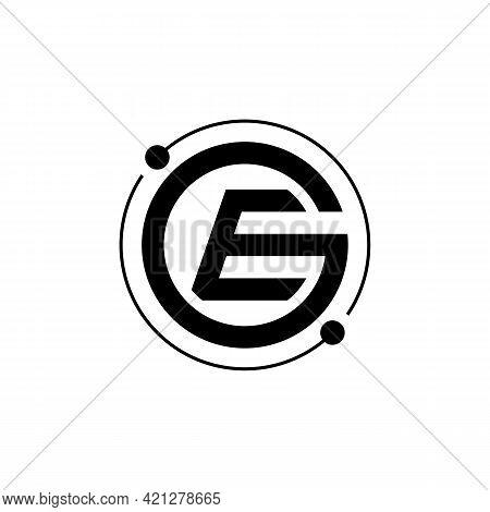Illustration Vector Graphic Of Ge Tech Lettering Logo