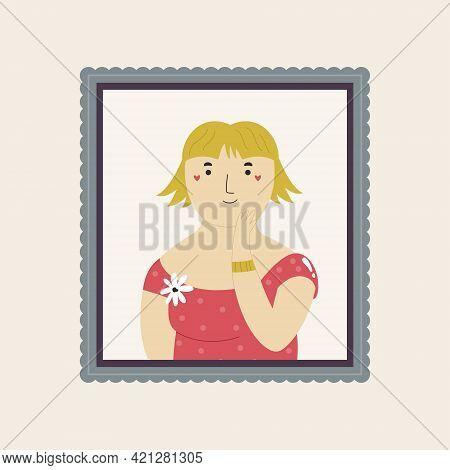 Cute Interpretation Of Jeanne Samary Portrait By Renoir