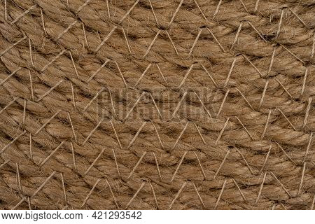 Macro View Straw Table Mats, Place Mat, Pot Holder, Dining Table Place Mat, Cup Mat, Wicker Napkin I