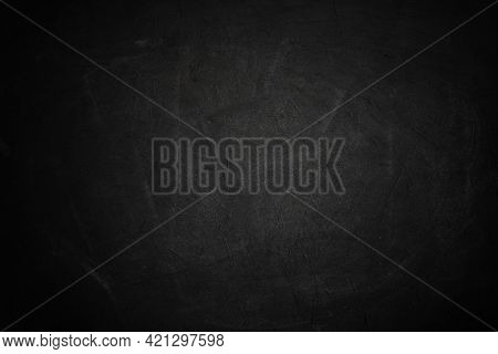 Black Board And Dark Cement Wall Wall Paper And Drop Background
