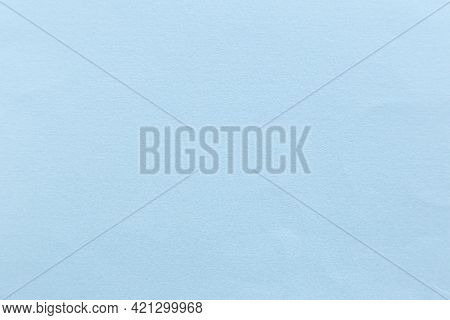 Blue Paper Texture Or Paper Background. Seamless Paper For Design. Close-up Paper Texture For Backgr