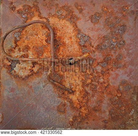 Metal Rusty Texture Background Rust Steel. Industrial Metal Texture. Grunge Rusted Metal Texture, Ru