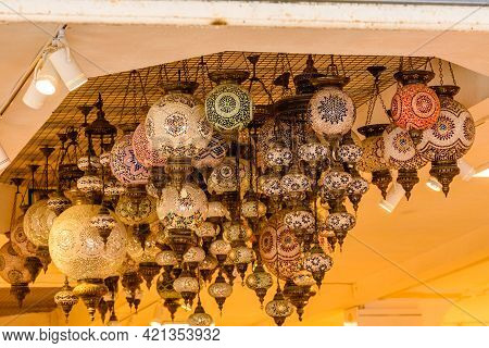 Traditional Turkish Chandeliers For Sale At Bazaar