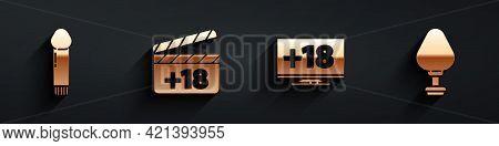 Set Dildo Vibrator, Movie Clapper With 18 Plus Content, Monitor With 18 Plus Content And Anal Plug I