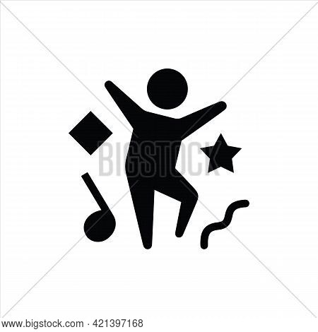 Boy Partying Icon Isolated On White Background From Party Collection. Boy Partying Icon Trendy And M