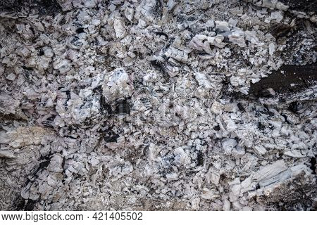 Ash Natural Background Texture, Gray Ash From The Oven Background Texture, Cinder, Gray Ash From Woo