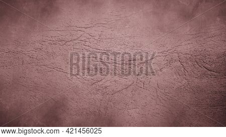 Trendy Purple Wrinkled Linen Fabric Background. Dark Red Wine Backdrop