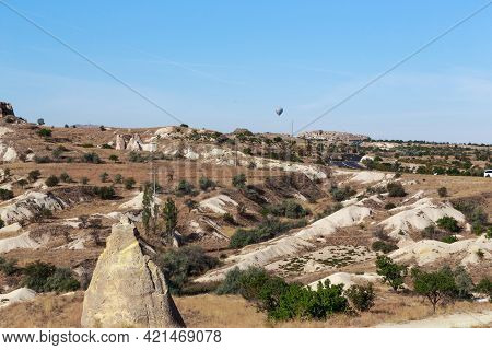 This Is An Unusual Landscape Characteristic Of Cappadocia (turkey) - An Area Composed Of Rocks Of Vo