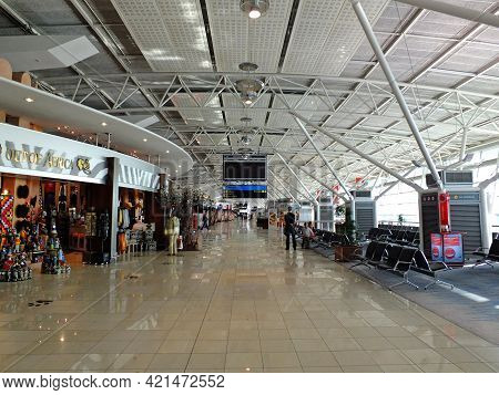 Cape Town, South Aafrica - 01 May 2012: The Airport In Cape Town, South Aafrica