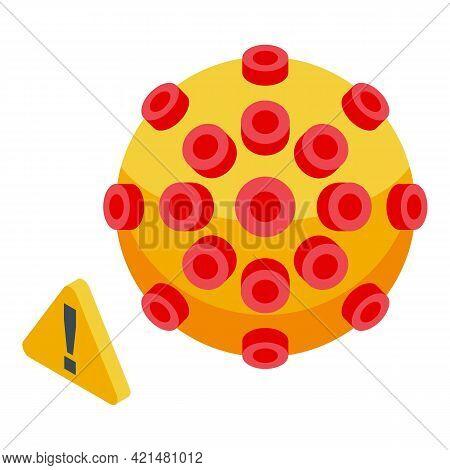 Virus Antibiotic Resistance Icon. Isometric Of Virus Antibiotic Resistance Vector Icon For Web Desig