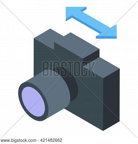 Camera Backup Icon. Isometric Of Camera Backup Vector Icon For Web Design Isolated On White Backgrou