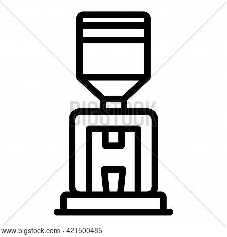 Office Cooler Icon. Outline Office Cooler Vector Icon For Web Design Isolated On White Background