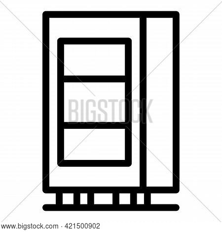 Electronic Beverage Machine Icon. Outline Electronic Beverage Machine Vector Icon For Web Design Iso