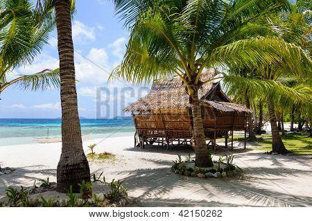 Hut At The Sea