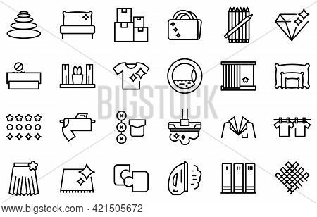 Perfectionism Icons Set. Outline Set Of Perfectionism Vector Icons For Web Design Isolated On White