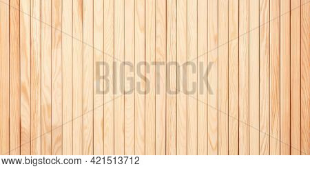 Light Boards Of A Table Or Walls. Wood Texture, Wood Background. Wood Plank Texture