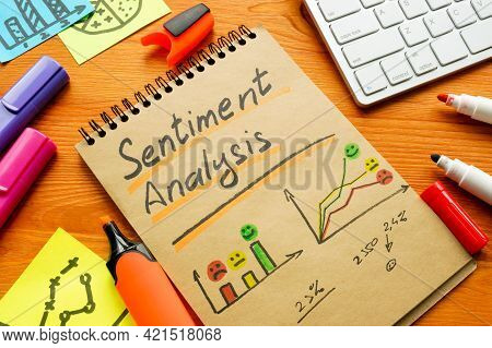 Sentiment Analysis For Positive And Negative Mentions In Charts And Graphs.