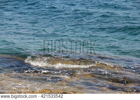 Beach Perfect Stone Turquoise Transparent Blue Water Croatia, Brac Island, Beach Near Supetar