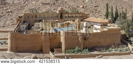 Saint Catherine's Monastery. Greek Orthodox Monastery. Sinai. Egypt.