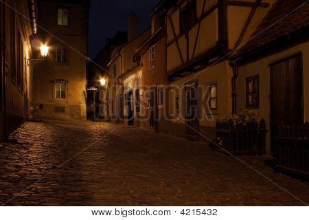 Golden Lane Inside The Prague Castle