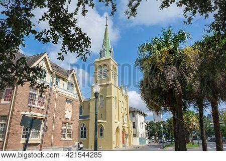 New Orleans, La - September 9: St. Theresa Avila Church In Lower Garden District On September 9, 202