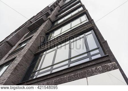 Izhevsk, Russia -05.21.2021: New High Rise Building Against The Sky. City Landscape. Urbanization. L