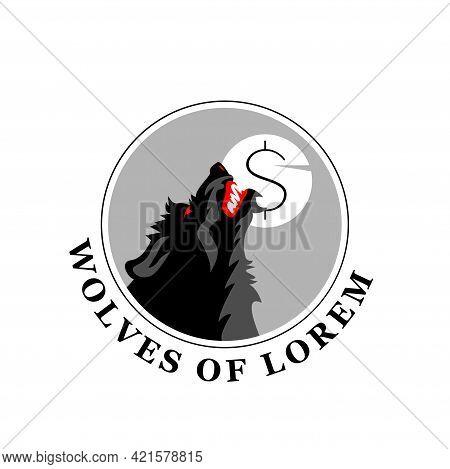 Illustration Vector Graphic Of Werewolf Logo Design