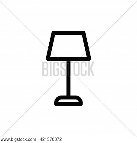 Lamp Icon Isolated On White Background. Lamp Icon In Trendy Design Style For Web Site And Mobile App