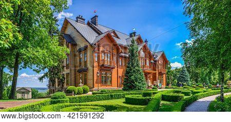 Honka In The Mezhyhirya Residence, Kyiv, Ukraine