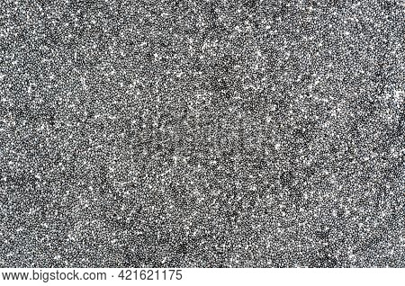 Chia Seeds Background. Chia Seeds Texture Close Up
