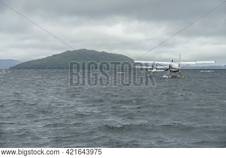 Two Seaplanes On Water Surface Seen In New Zealand