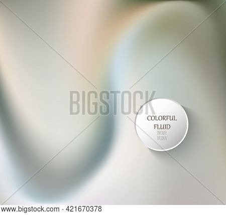 Abstract Vector Background Luxury White Cloth Or Liquid Wave Or Wavy Folds Of Grunge Silk Texture Sa