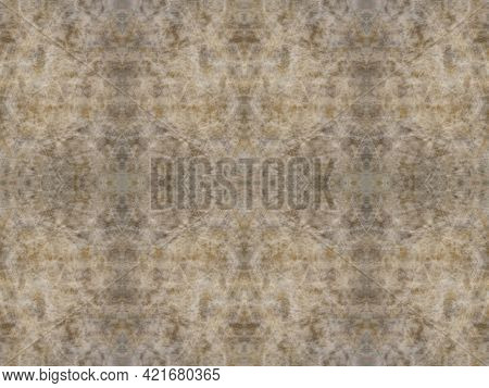Dark And Light Brown Tones In Abstract Seamless  Pattern, Light Camouflage Background