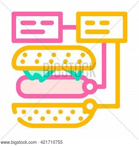 Ingredients For Cooking Color Icon Vector. Ingredients For Cooking Sign. Isolated Symbol Illustratio